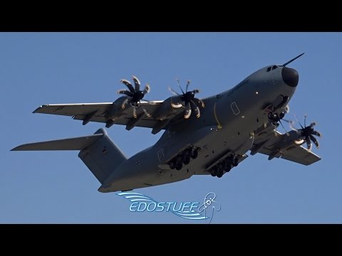 Luftwaffe - Airbus A400M Atlas - Amazing Takeoff from Split Airport LDSP/SPU
