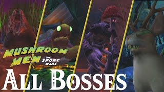 Mushroom Men : The Spore Wars // All Bosses