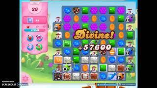 Candy Crush Level 990 Audio Talkthrough, 3 Stars 0 Boosters