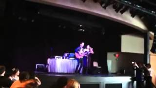 ANDY GRAMMER AT PROM