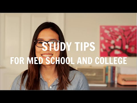 Study Tips for Medical School & College | How I Study in Medical School