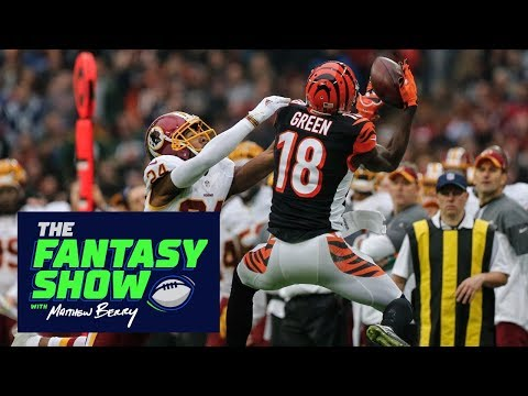 Berry loves Cam Newton and A.J. Green for Week 3 | The Fantasy Show with Matthew Berry | ESPN