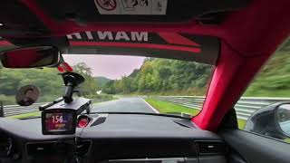 NURBURGRING FULL 4K 180° YOU MY PASSENGER  INTO THE GT2 RS MANTHEY RACING!