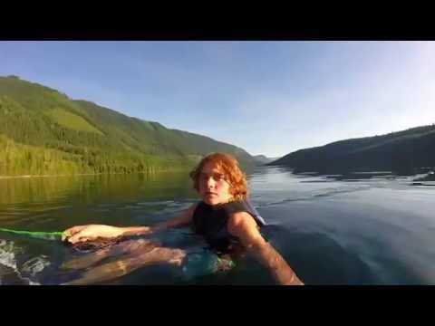 GoPro | Water Skiing on Duncan Lake, British Columbia