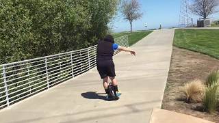 2hrs to learn how to ride a Electric Unicycle