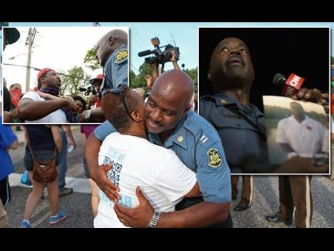 Poor Excuse of A Cop: Capt. Ron Johnson Allows Looting in Ferguson, MO