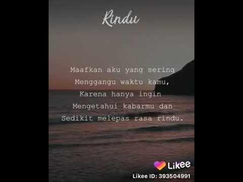 video quotes snap wa bikin baper😍