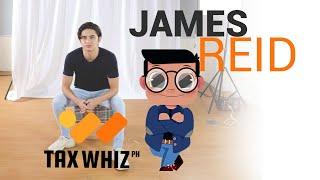TaxWhizPH mobile app of James Reid