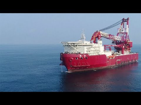 China delivers new 5,000 ton crane vessel