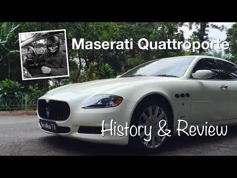 Maserati Quattroporte History and Review