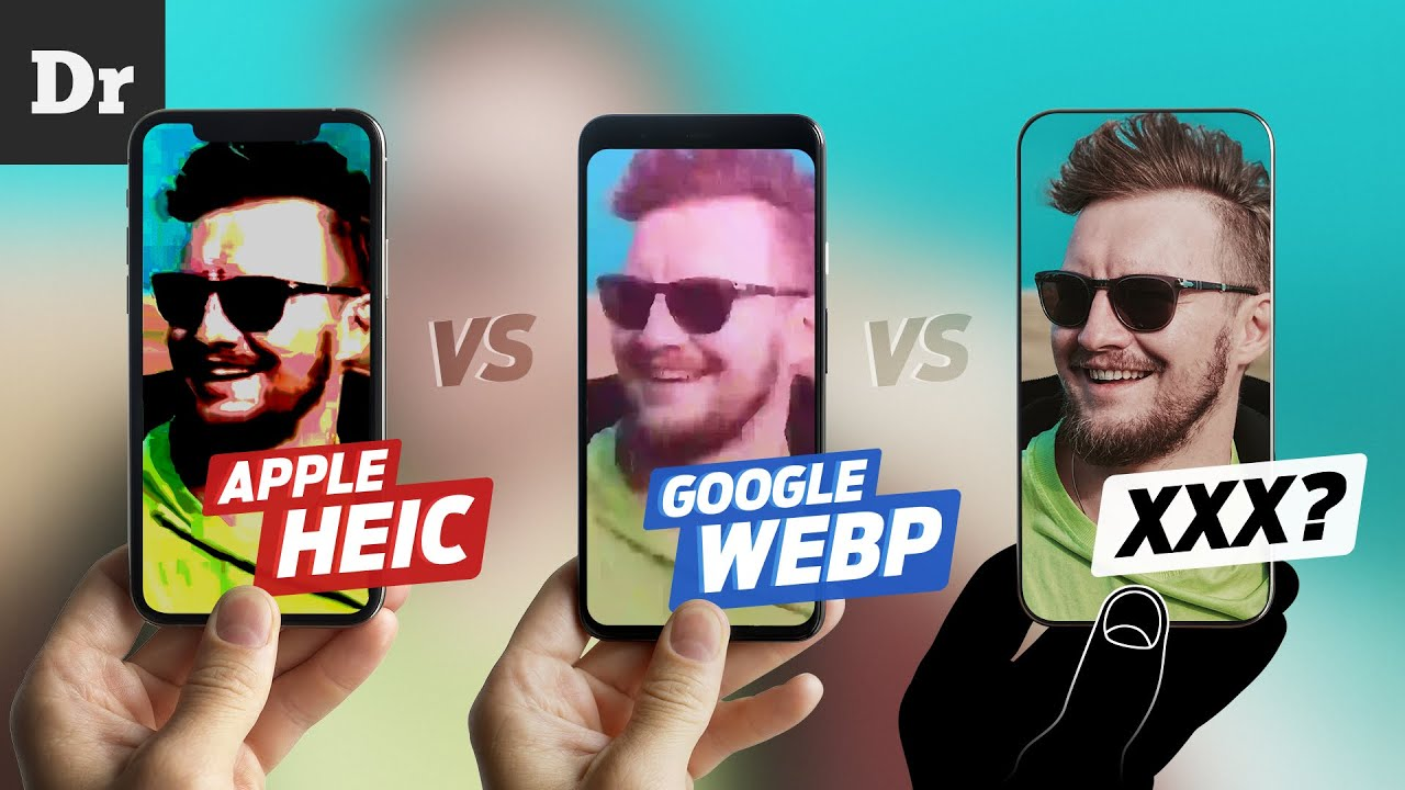 ФОРМАТЫ Apple HEIC vs Google WebP vs ... | РАЗБОР