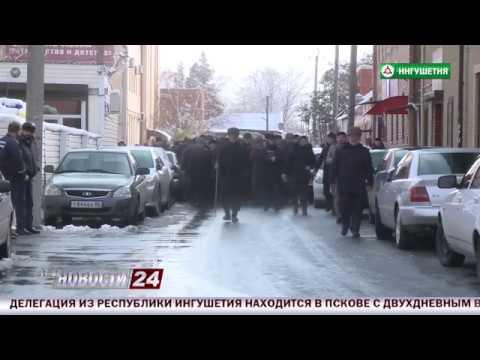 Похороны братьев Эльджеркиевых.