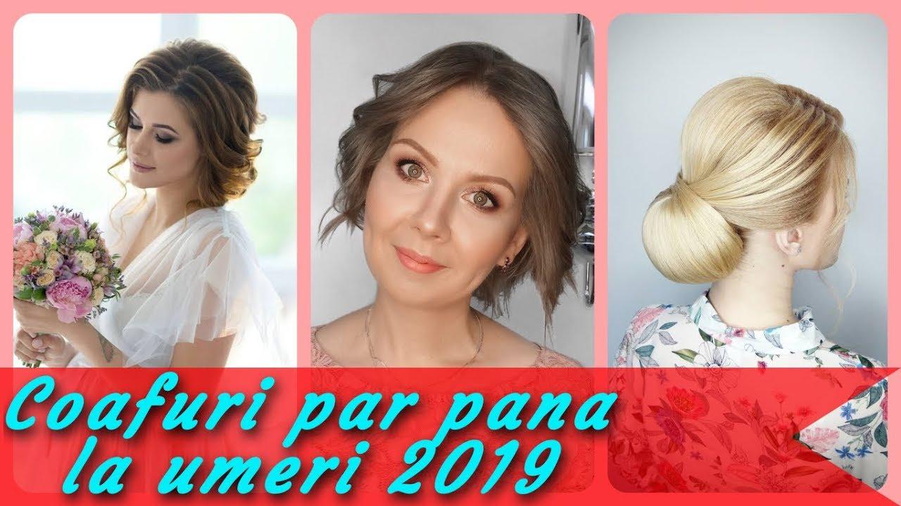 Top 20 Modele De Coafuri Par Pana La Umeri 2019 Youtube