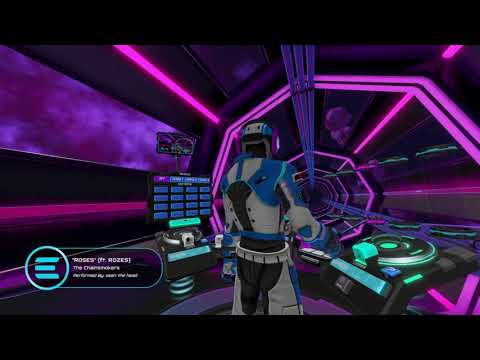 First Time Playing Electronauts. DJ experience in Virtual Reality. |