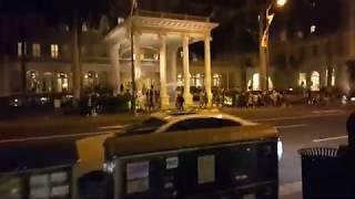 하와이 쉐라톤프린세스 리조트 앞 밤거리