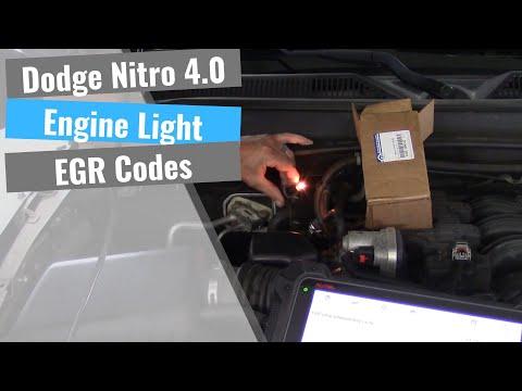 Dodge Nitro: EGR Valve Problems