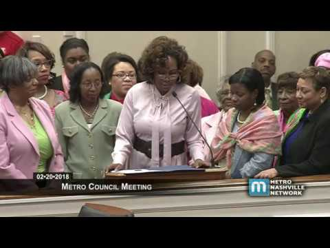 02/20/18 Metro Council Meeting