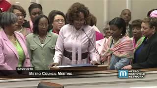 02/20/18 Metro Council Meeting