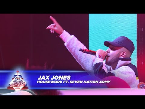 Jax Jones - 'House Work / Seven Nation Army' - (Live At Capital's Jingle Bell Ball 2017)