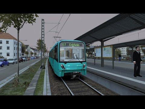 FR / Train Simulator 2015 / U-Bahn Frankfurt/ en français