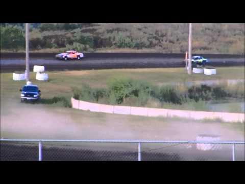 nielsen racing Mineral City Speedway 8-17-13