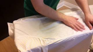 How to Iron a Shirt: Long-Sleeved Buttoned Shirt