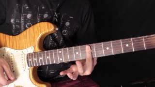 Como Tocar - Can't Stop - Red Hot Chili Peppers - Tutorial De Guitarra Al Estilo John Frusciante