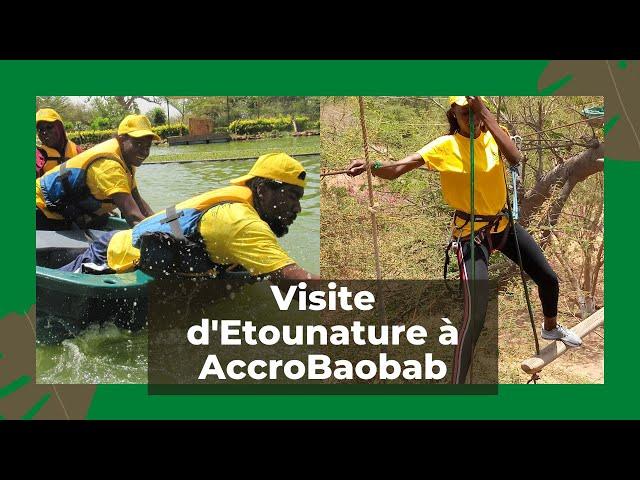 Vlog à l'accrobaobab #teambuilding#etounature#wic#