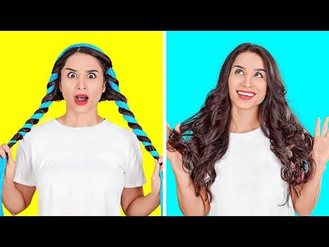 HAAR-IDEEN, DIE SO COOL SIND || Haar-Tipps und DIY-Tricks auf 123 GO!