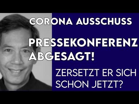 Corona Ausschuss Pressekonferenz abgesagt