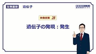 【生物基礎】 遺伝子28 発生 (15分)