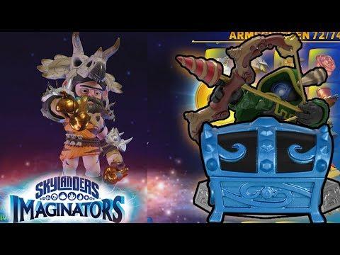80 NEUE IMAGINATOR TEILE!! - Skylanders Imaginators Lost Imaginate Mine Level Pack Blue Chest