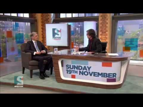 Philip Hammond - on 'Peston on Sunday' (19/11/17)