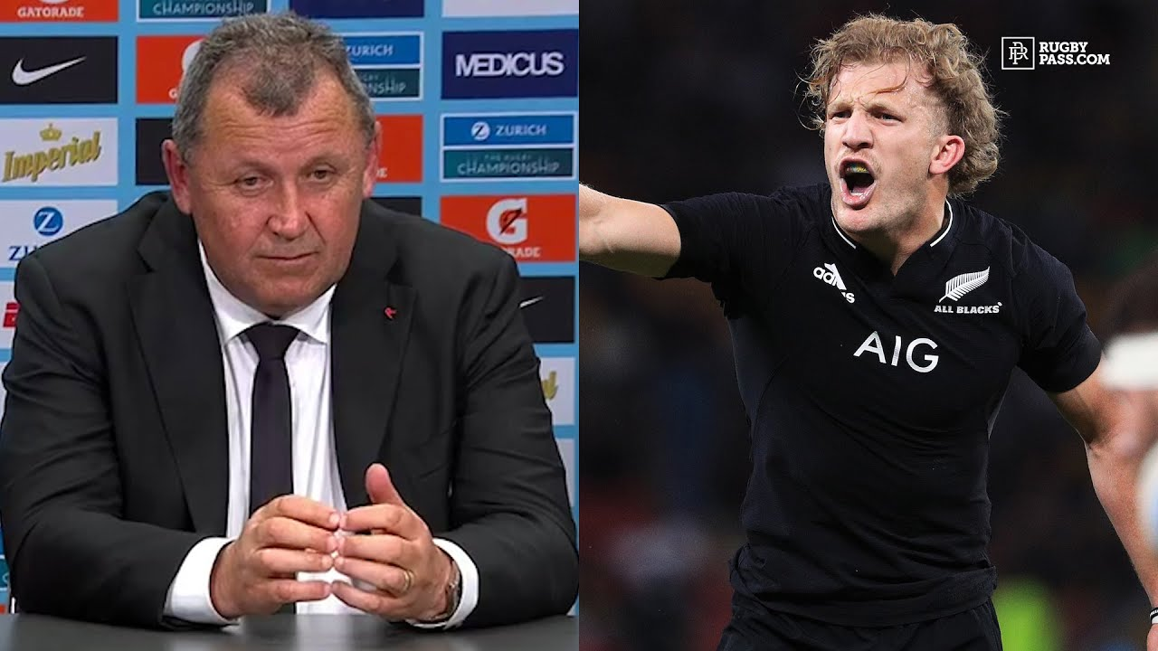 Download Ian Foster discusses the huge depth in the All Blacks squad after second win over Argentina