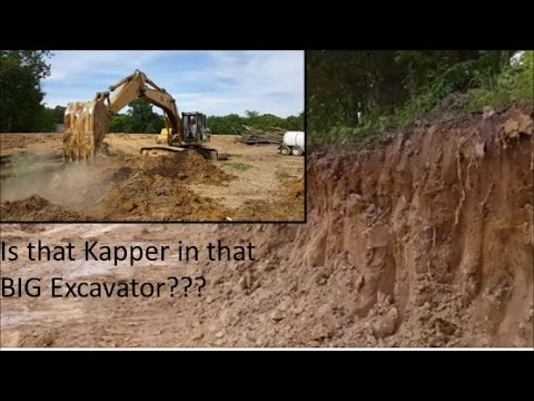 New Lake Island Cut and SNEAK PEEK Did I really work this BIG excavator!!??