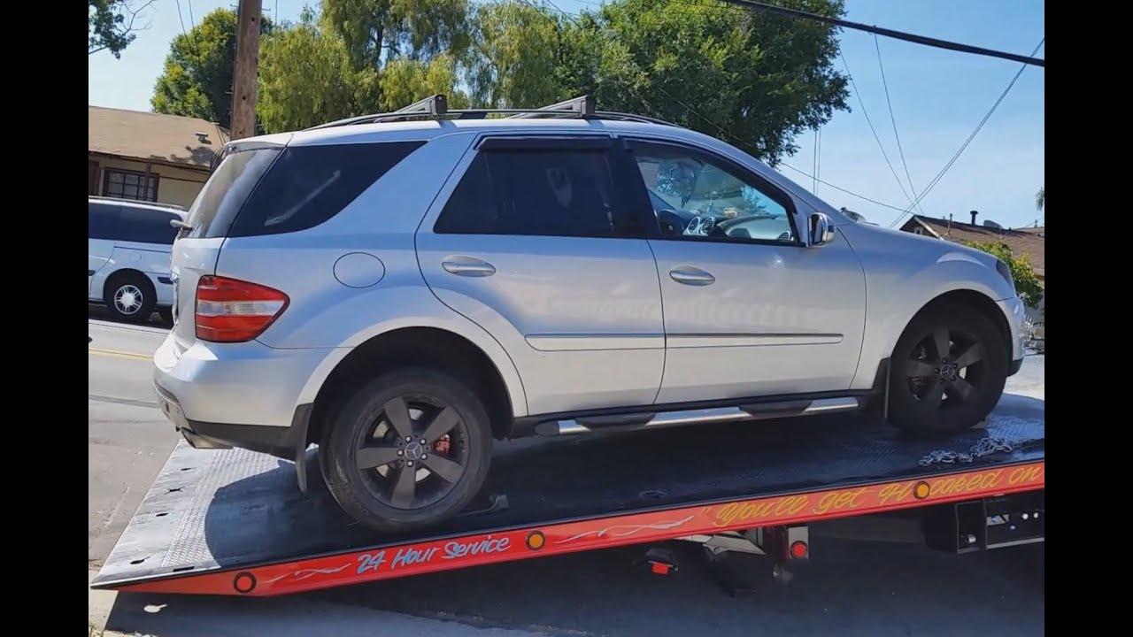 SOLVED - Mercedes Stuck in Park can't Shift Gear ML500 | W164 Fix Shifter  Stuck