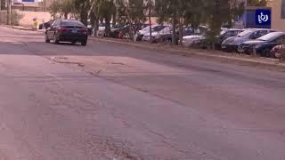 تشققات ملحوظة في شارع الشحن الجوي القسطل - (14-12-2017)