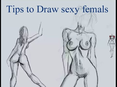 Tips to Draw Sexy Females with no references