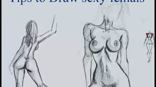 Tips to Draw Sexy Females