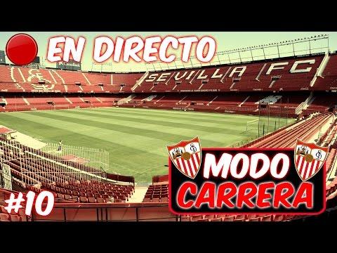 """DIRECTO!! FIFA 17 Modo Carrera: Sevilla FC - """"Especial 600 suscriptores"""" - Ep. 10"""