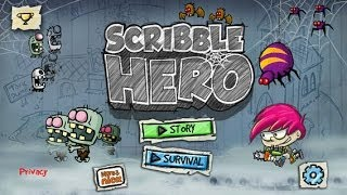 Scribble Hero for Android & iPhone/iPad GamePlay