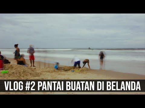 VLOG #2: PANTAI ORANG TELANJANG DI BELANDA | Nudist Beach in The Netherlands