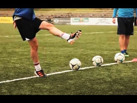 How to Do Kicking Drills | Soccer Lessons