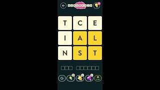 WordBrain (by MAG Interactive) - words puzzle game for Android and iOS - gameplay. screenshot 2