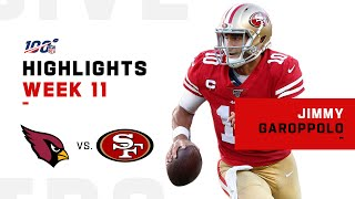 Jimmy G Had Himself a Day w/ 424 Passing YDs & 4 TDs | NFL 2019 Highlights
