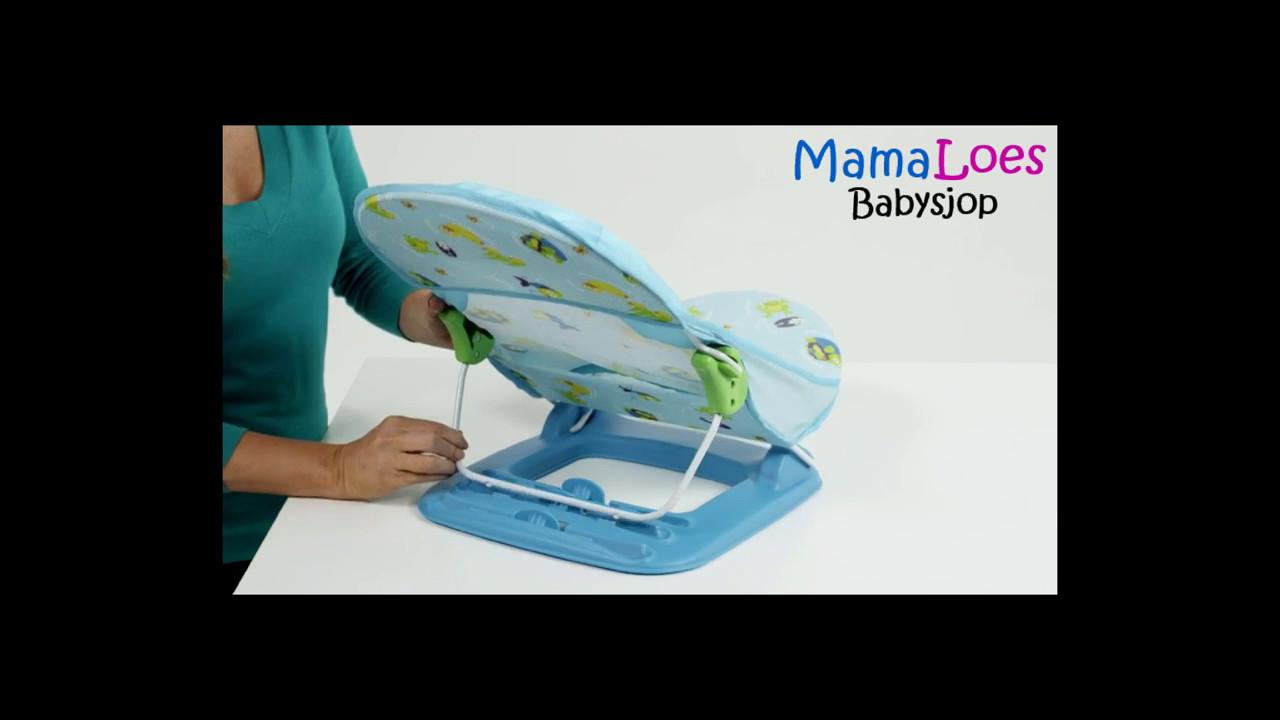 MamaLoes Babysjop - Summer Deluxe Baby Bather Badzitje - YouTube