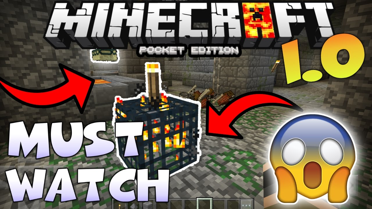 Minecraft Pe 1 1 0 Dungeon In Stronghold Seed  Mcpe 1 0 4 Dungeon In Stronghold Seed