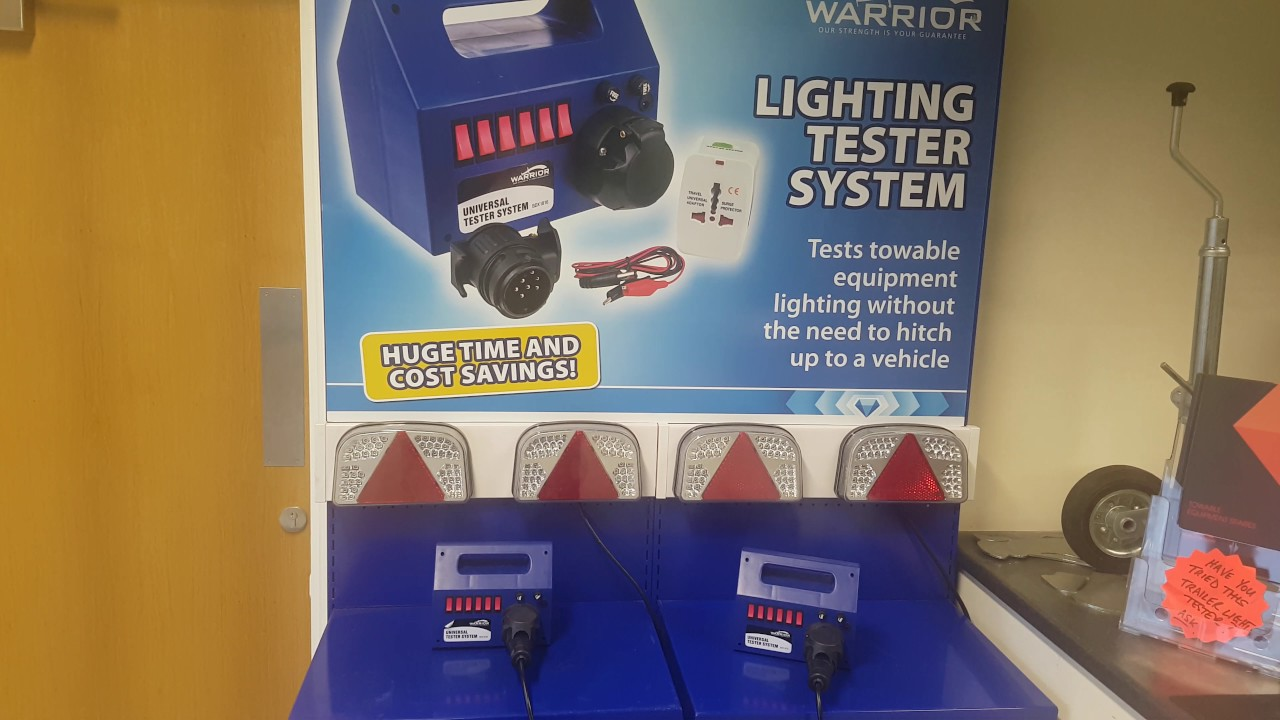 Led Verlichting Camper 12v Checking Road Lights And Wiring Trailer And Caravan Universal Trailer Tester System
