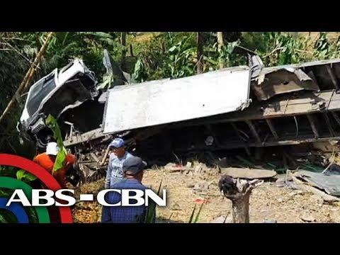 Trak nahulog sa bangin sa South Cotabato; 20 patay | TV Patrol