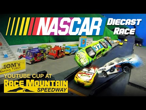 NASCAR YouTube Cup @ Race Mountain Speedway 2019 Diecast Racing Event